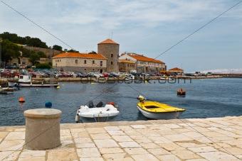 Mediterranean Town Senj near Istria, Croatia