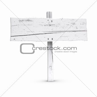 blank painted wooden sign, thin