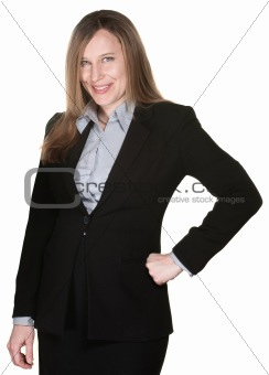 Confident buisness woman