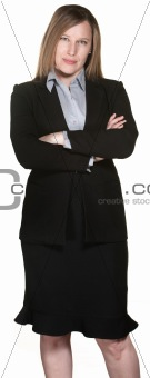 Business Woman With Folded Arms