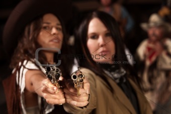 Western Women with Guns
