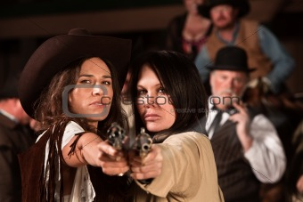 Pretty Gunfighters