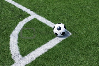 ball in corner