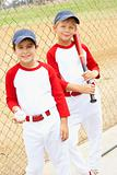 Young Boys Playing Baseball