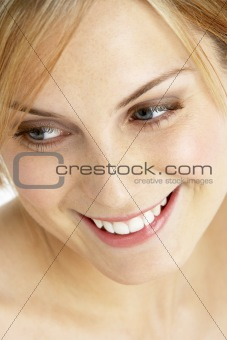 Close Up Of Pretty Young Woman