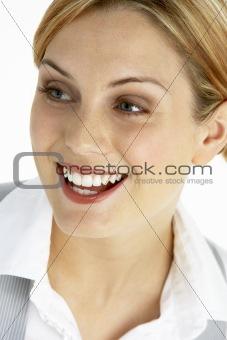 Portrait Of Smiling Female Executive