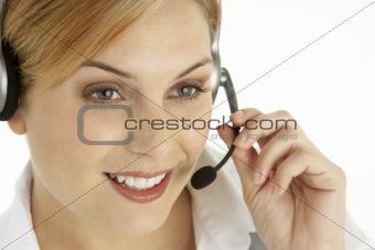 Attractive Customer Services Representative