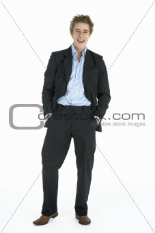 Portrait Of Casually Dressed Businessman