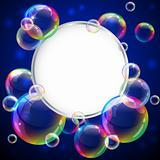 Bubbles frame