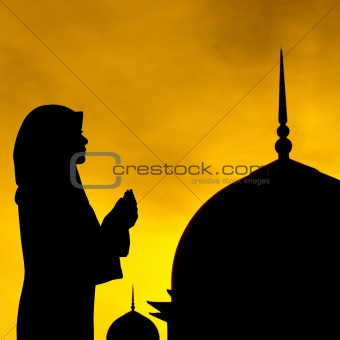 Muslim prayer and mosque