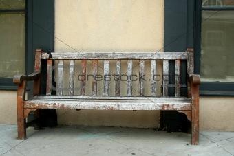 Old wodden bench