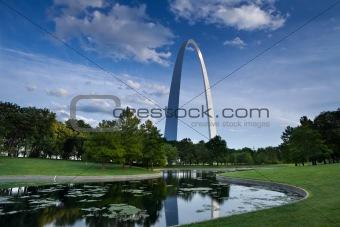 Gateway Arch.