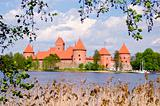 Lithuanian history heart - Trakai castle