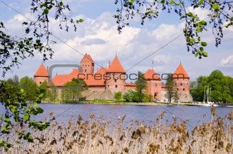 Lithuanian history heart - Trakai castle