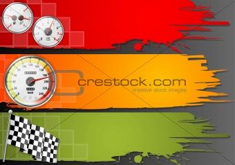 Three Speed Frame