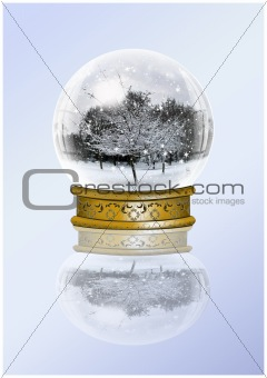 Snow Globes and Christmas fun.
