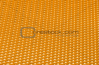 Yellow metal mesh plating
