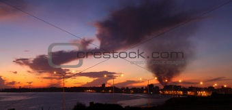 A cloudy dawn, Habana, Cuba