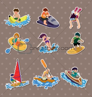 water sport stickers