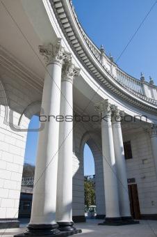 Railway station in Sochi