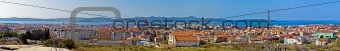 Adriatic city of Zadar panoramic view