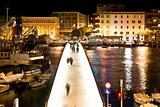 Dalmatian city of Zadar harbor bridge