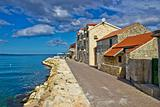 Adriatic coast - Dalmatian town of Bibinje waterfront