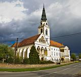 Greek catholic cathedral in Krizevci