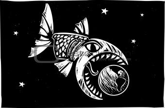 Fish Eating Earth