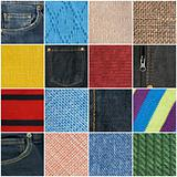 Fabric texture collection