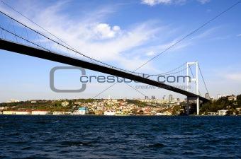 Sultan Mehmet Bridge, Istanbul, Turkey
