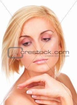 soft and sensual female portrait
