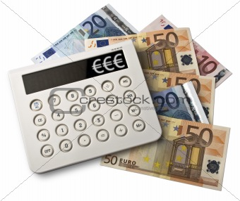 Calculator and euros