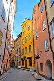 Stockholm. Street of Old town