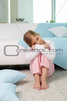 Girl at home
