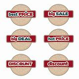 promotional labels set
