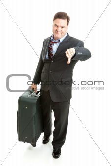 Business Traveler- Unhappy