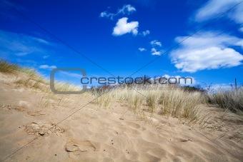 sky over sand