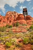 Chapel of the Holy Cross provides heavenly view of Red Rock Canyon