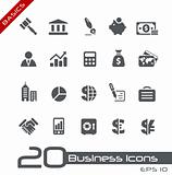 Business &amp; Finance Icons // Basics