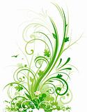 Abstract spring design decoration
