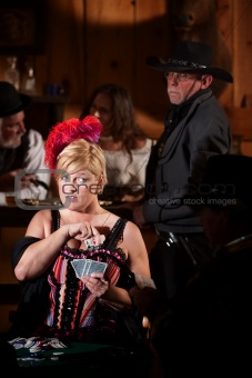 Sheriff Watches Showgirl Cheat