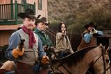 Four Tough Western Robbers