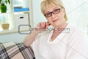 Woman on retire