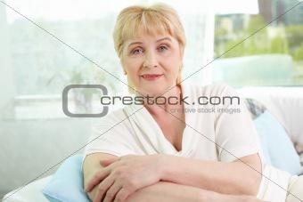 Blonde woman