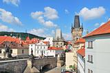 Prague.  Lesser Town Towers