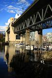 South side of Burrard Street Bridge