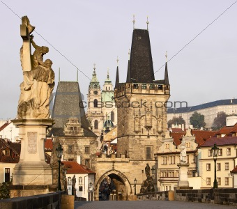 Charles Bridge and Lesser Town