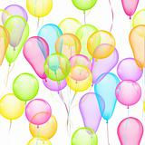 Balloons Seamless Pattern