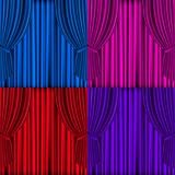 Colored Curtains Background